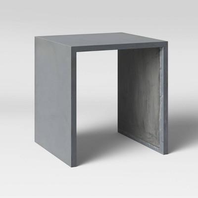 Parson Concrete Patio Accent Table - Project 62™