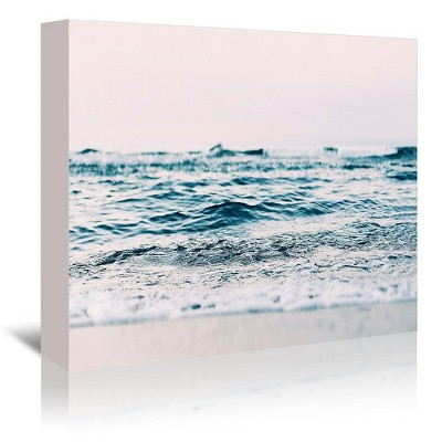 Americanflat Ocean Wave Blush by Sisi and Seb Canvas