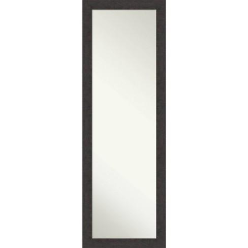 Rustic Plank Framed Bathroom Vanity Wall Mirror Amanti Art Target