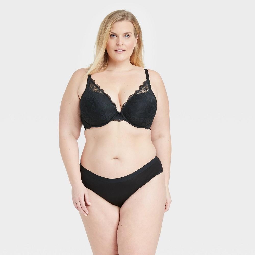 Women 39 S Plus Size Cotton Bikini Underwear Auden 8482 Black 3x