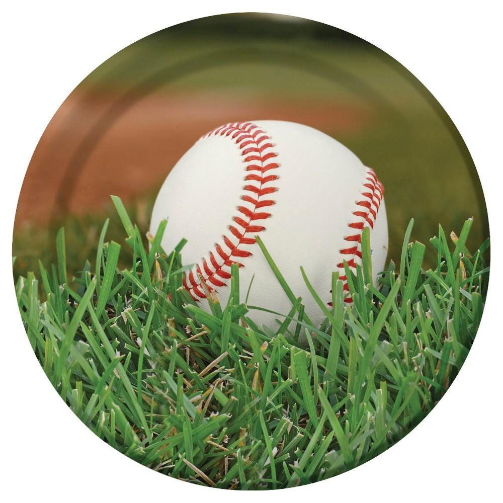 "Image of ""Baseball 9"""" Paper Plates - 8ct"""
