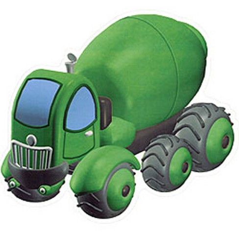 Construction Heavy Loaders Self-Stick Wall Accent Stickers - Warner.. - image 1 of 2