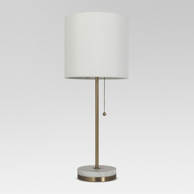 Hayes Marble Base Stick Lamp Brass - Project 62™