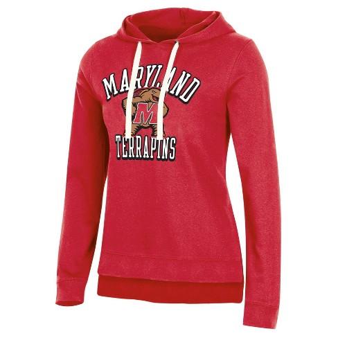 NCAA Maryland Terrapins Women's Fleece Hooded Sweatshirt - image 1 of 2