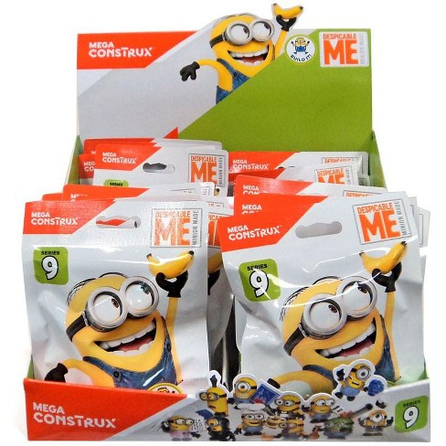 Mega Bloks Despicable Me Minion Made Mystery Minions Series 9 Mystery Box [24 Packs] - image 1 of 1