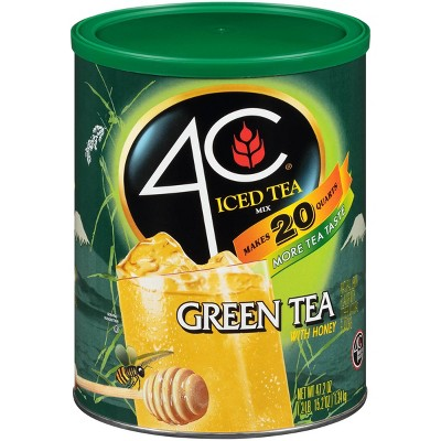 4C Antioxidant Green Tea Iced Tea Mix - 47.2oz