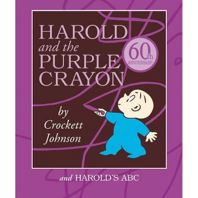 Harold and the Purple Crayon Set - by Crockett Johnson (Board_book)