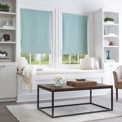 "27""x64"" Room Darkening Window Shade Panel Aqua - CHF Industries - image 1 of 3"