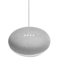 Google Home Mini Smart Speaker with Google Assistant (Chalk)