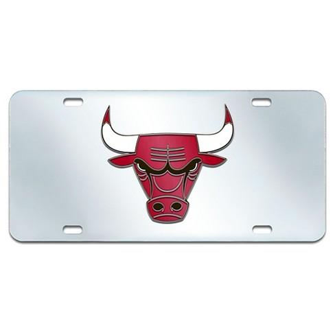 NBA® Acrylic Inlaid License Plate Frame Chicago Bulls : Target