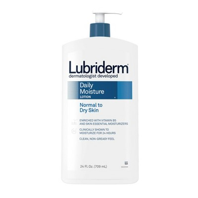 Lubriderm Daily Moisture Hydrating Lotion with Vitamin B5 - 24 fl oz
