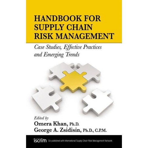 Handbook for Supply Chain Risk Management - (Hardcover) - image 1 of 1