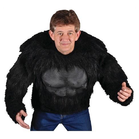 Men's Gorilla Shirt Costume One Size - image 1 of 1