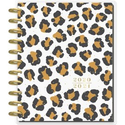 "2020-21 Academic Planner 8.5"" x 11"" Big 12 Month Leopard Confetti - The Happy Planner"