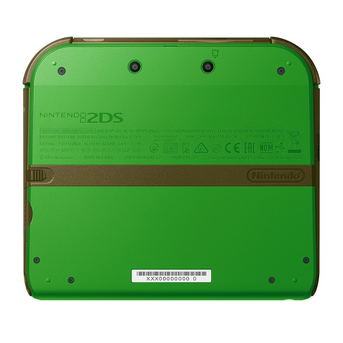 Nintendo 2DS Link Edition With The Legend Of Zelda Ocarina Time