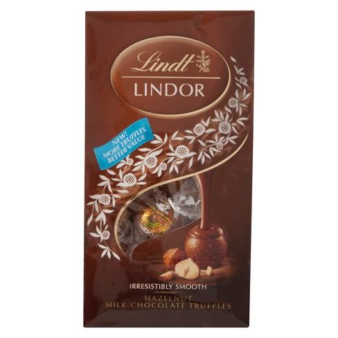 Lindt Lindor Hazelnut Chocolate Truffles - 6oz - image 1 of 1