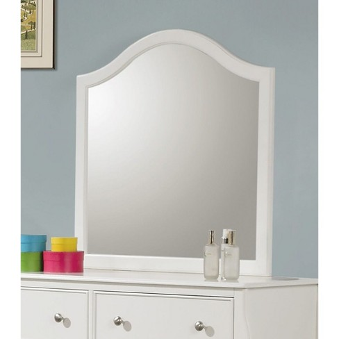 Sophie Dresser Mirror White Private, What To Do With A Dresser Mirror