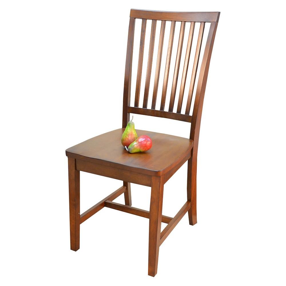 Image of Delano Dining Chair Chestnut - Carolina Cottage
