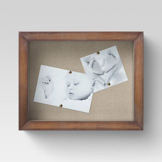 "8.5"" x 11"" Wooden Shadow Box - Threshold™"