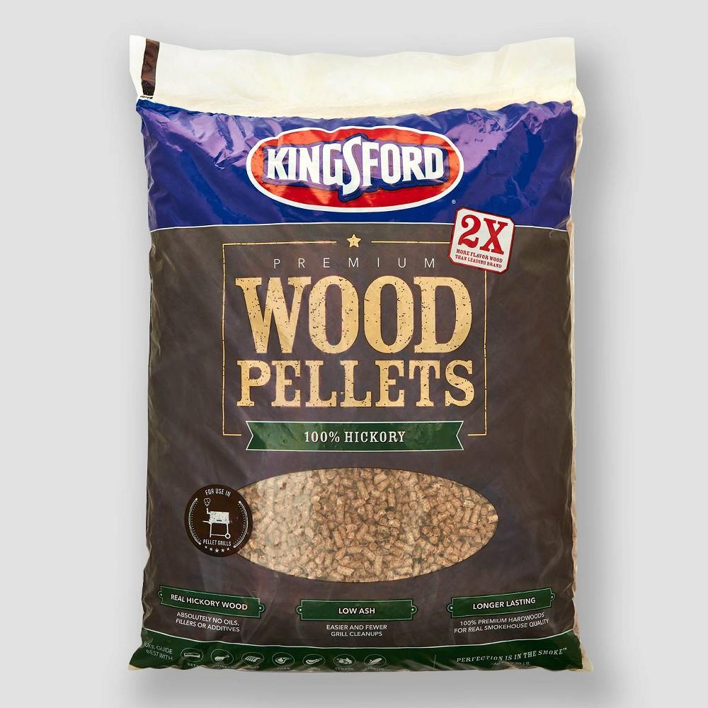 Kingsford 100% Hickory Wood Pellets - 20lb, Black