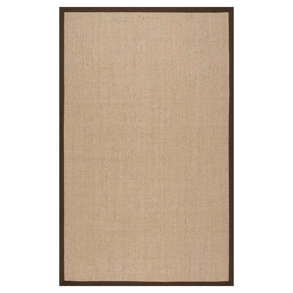 Brown Solid Loomed Runner - (2'6x10') - nuLOOM