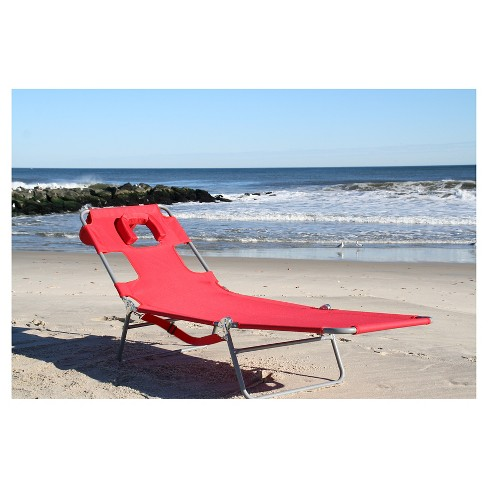 Ostrich Chaise Lounge Beach Chair
