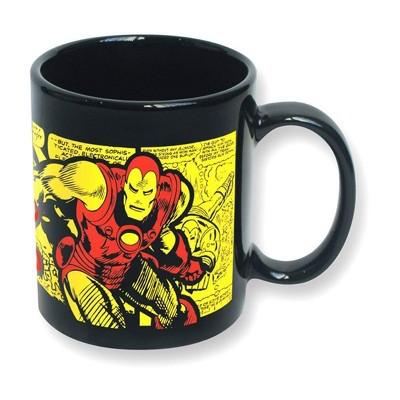 ICUP, Inc. Marvel The Invincible Iron Man Comic Wrap 11 oz Ceramic Mug