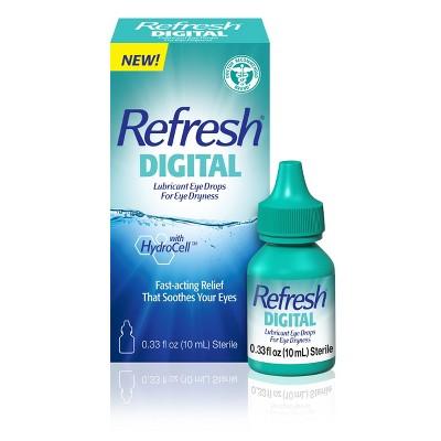 Refresh Digital Lubricant Eye Drops - 10ml