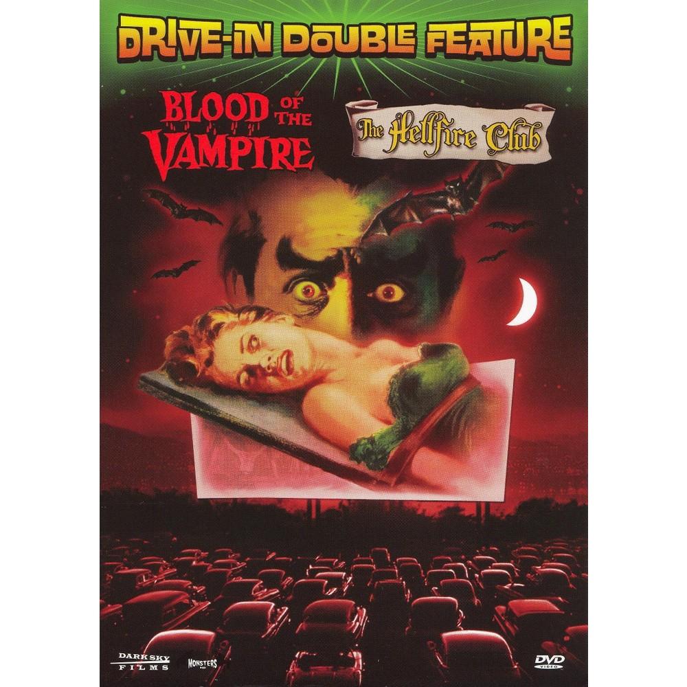 Blood Of The Vampire/Hellfire Club (Dvd)