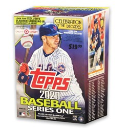Topps MLB Series 1 Baseball Trading Cards Blaster Box (Target Exclusive)