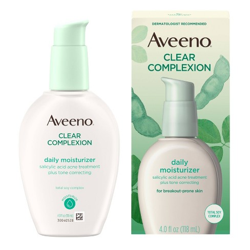 Aveeno Clear Complexion Blemish Treatment Daily Moisturizer - 4oz - image 1 of 4