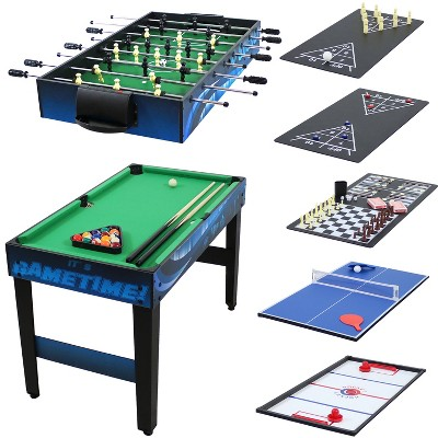 "Sunnydaze Decor 40"" 10-in-1 Multi Game Table"