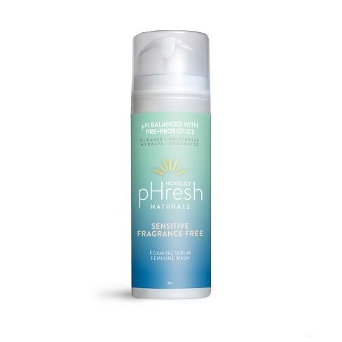 Honestly pHresh Sensitive Fragrance Free Pre + Pro Biotic Feminine Wash - 5 fl oz - image 1 of 4