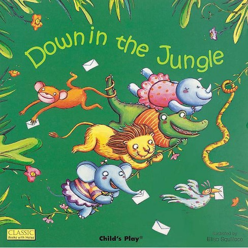Down in the Jungle - (Classic Books with Holes 8x8) (Paperback) - image 1 of 1