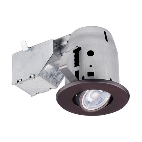 """Globe Electric 91144 3"""" LED Adjustable Gimbal Recessed Light - Insulated Ceiling Rated - image 1 of 1"""