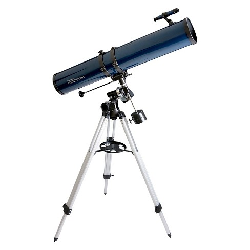 Celestron PowerSeeker 114 EQ Telescope with Motor Drive - Midnight Blue - image 1 of 2