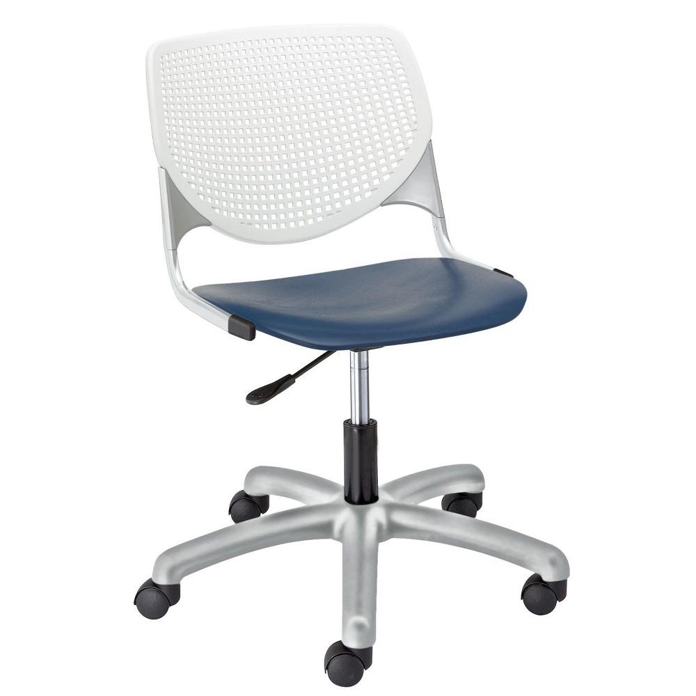 Kool Poly Task Chair Navy (Blue) - Kfi Seating
