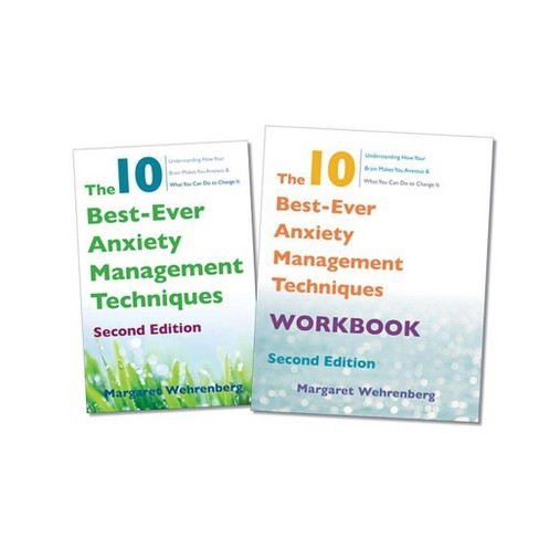The 10 Best-Ever Anxiety Management Techniques, 2nd Edition Two-Book Set - by  Margaret Wehrenberg - image 1 of 1