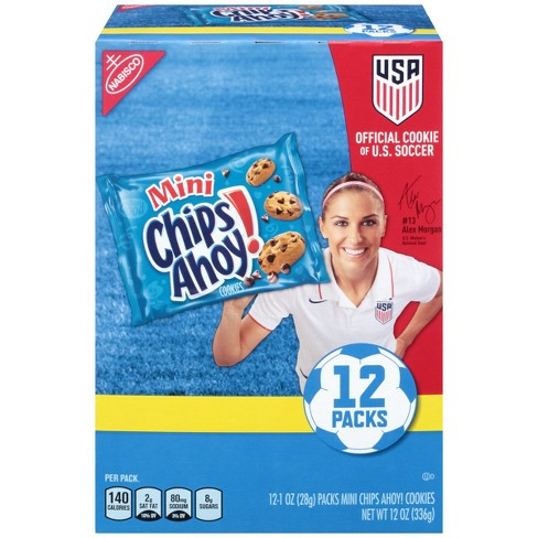 Chips Ahoy! Mini Chocolate Chip Cookies Munchpack - 12pk - image 1 of 5