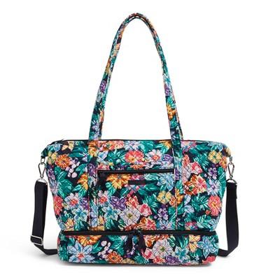 Vera Bradley Women's Cotton Deluxe Travel Tote Bag