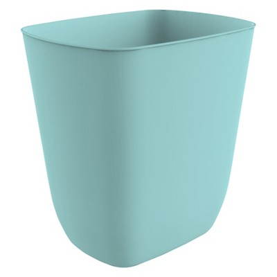 No-lid Trash Can Dusty Jade - Room Essentials™