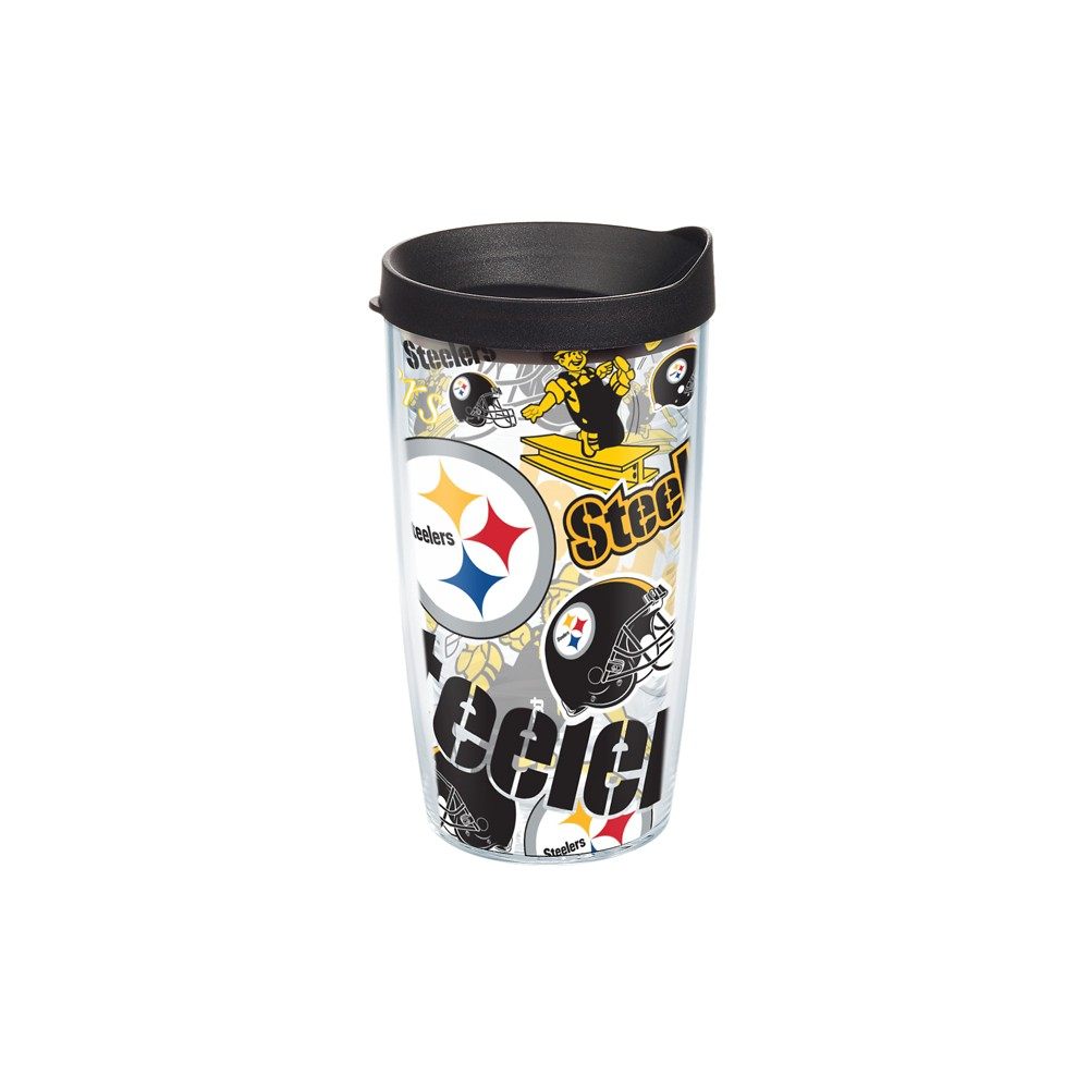 Tervis NFL Pittsburgh Steelers All Over 16oz Tumbler with lid