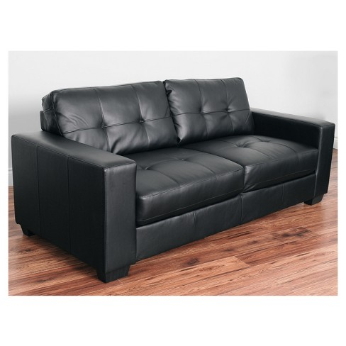 Club Tufted Bonded Leather Sofa - CorLiving : Target