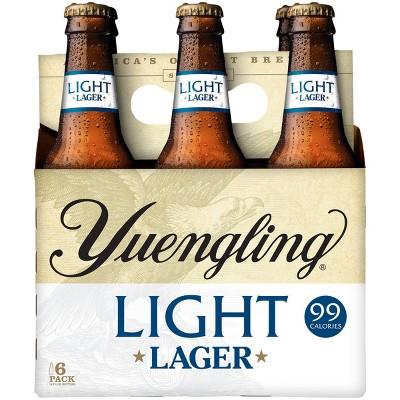 Yuengling Light Lager Beer - 6pk/12 fl oz Bottles