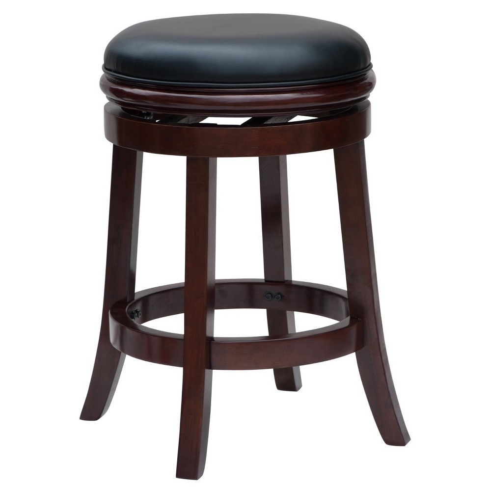 "Image of ""24"""" Backless Counter Stool Cherry - Boraam"""