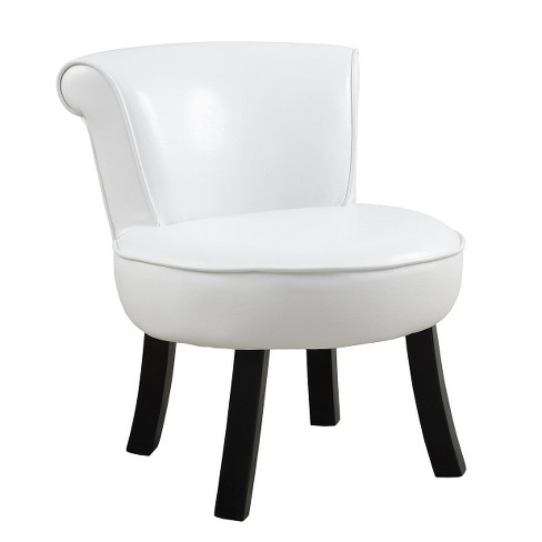Juvenile Chair - White Leather Look - EveryRoom - image 1 of 1