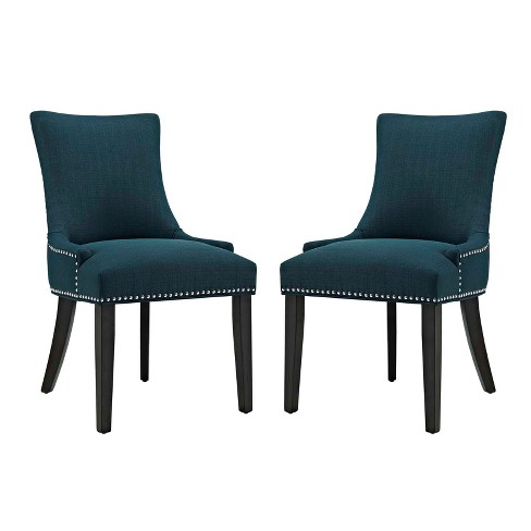 Set of 2 Marquis Dining Side Chair Fabric - Modway - image 1 of 4