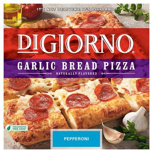 Digiorno Garlic Bread Pepperoni Frozen Pizza 307oz Target