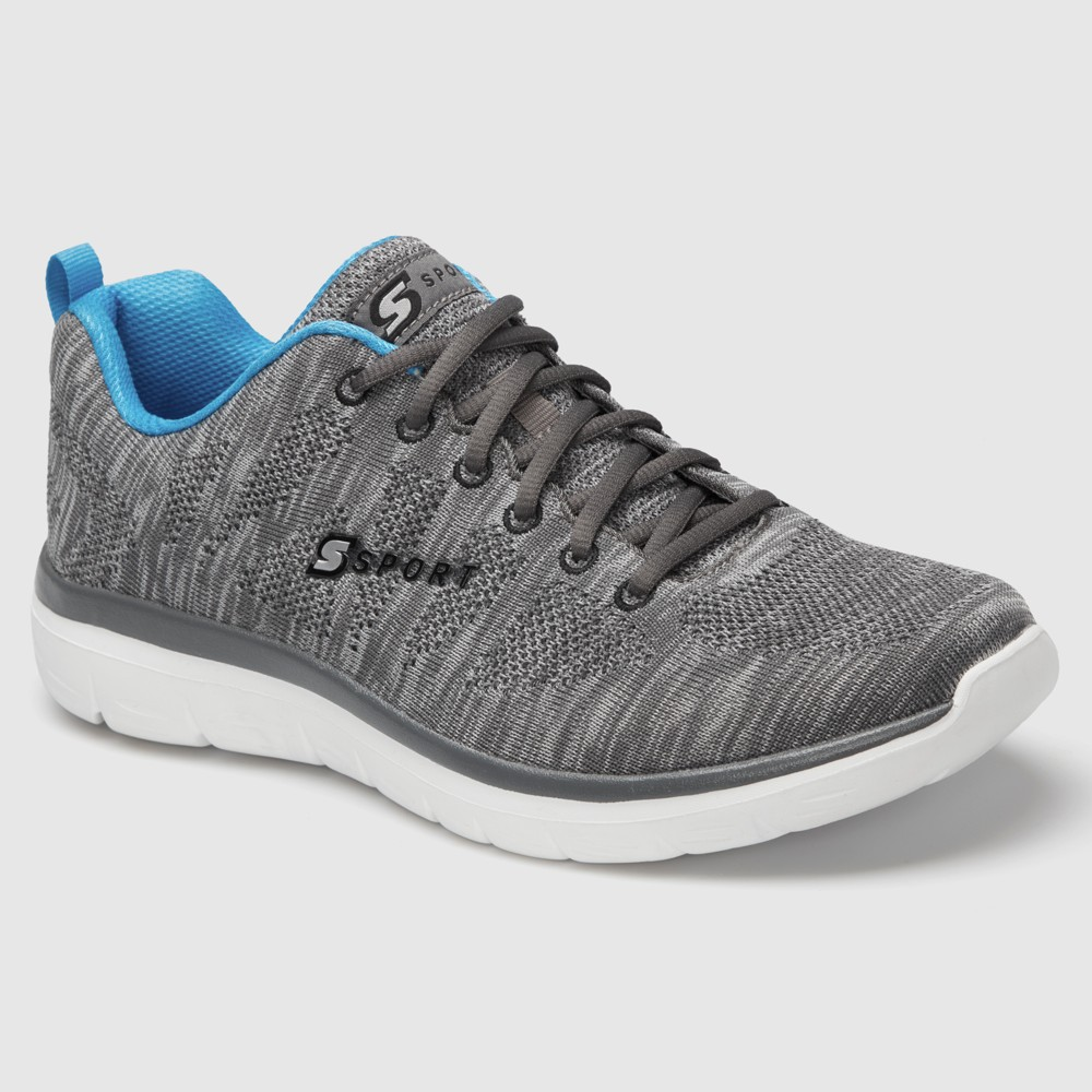 Men's S Sport by Skechers Calescent Athletic Shoes - Grey/Blue 8.5, Blue Gray White