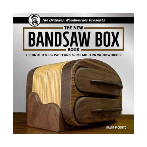 New Bandsaw Box Book Techniques And Patterns For Target
